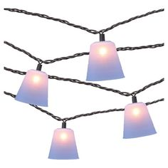 10 count Decorative String Lights - Silicone Cone Cover - Threshold™ : Target