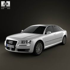 Audi A8 2009 3d model from humster3d.com. Price: $75