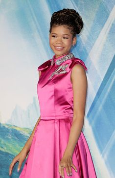 Storm Reid Photos - Storm Reid attends the European Premiere of 'A Wrinkle In Time' at BFI IMAX on March 13, 2018 in London, England. - 'A Wrinkle In Time' European Premiere - Red Carpet Arrivals
