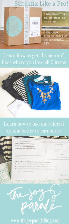 Learn how to get your Stitch Fix to practically pay for ITSELF! Learn how to get items you really love and a stylist who really understands you! The tips in this are a MUST for anyone using Stitch Fix!!!