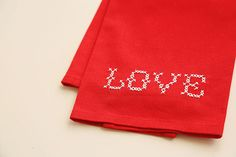 embroider a bit of peace on earth with this free pattern