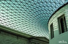 British Museum, London This ceiling / roof is amazing  #BritishMuseum #London