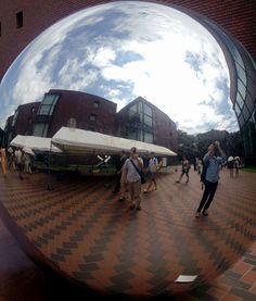 I am in a fish-eye view !