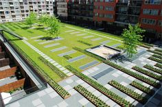 Masira Green Roof Park by Buro Sant en CO Landschapsarchitectuur