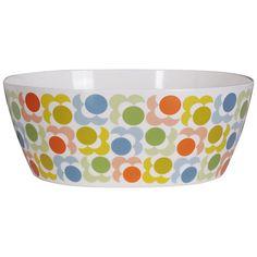 Buy Orla Kiely Salad Bowl, Multi Shadow Flower Online at johnlewis.com