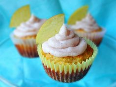 Paleo Apple Pie Cupcakes with Cinnamon Frosting #PaleoCupboard