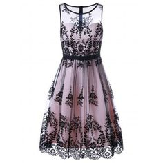 SHARE & Get it FREE | Floral Print Mesh Prom Cocktail DressFor Fashion Lovers only:80,000+ Items·FREE SHIPPING Join Dresslily: Get YOUR $50 NOW!