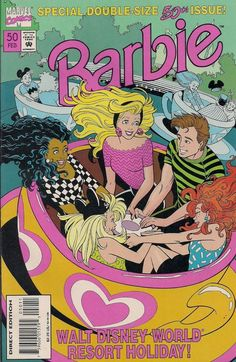 BARBIE # 50 MARVEL COMICS 1995