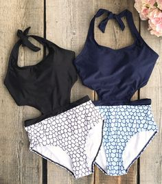 Suit Up! Cupshe has the hottest swimwear under the sun. Shop one pieces and bikinis by fun print and chic style. Start your beach trip from this contrast color bathing suit.