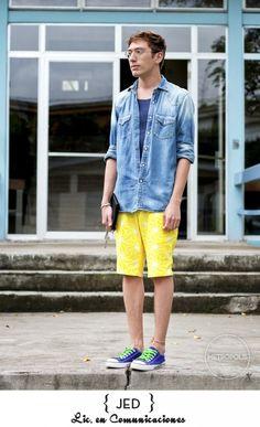 …CON UN ESTAMPADO AMARILLO [UCA] Metropolis Trends / Street Fashion  www.metropolistrends.com