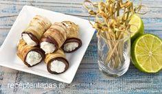 Aubergine met limoenricotta