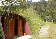 A Hobbit Home of Your Own: Hilly Grass-Covered Prefabs | Designs & Ideas on Dornob