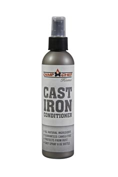 Cast Iron Conditioner 8 oz Spray Bottle