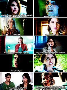 Malia Tate in season 5b + favorite lines