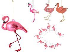 Flamingo Christmas Tree Decorations Uk : Tropical christmas tree decorations trend homegirl london