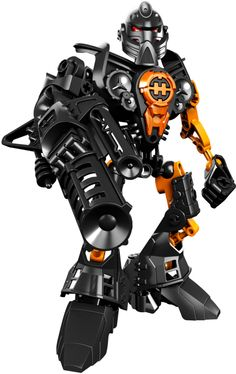 he's mostly gun. From the Hero Factory series. Bionicle Heroes, Lego Bionicle, The Sonic, Sonic Boom, Cheap Lego, What Boys Like, Lego Machines, Hero Factory, All Lego