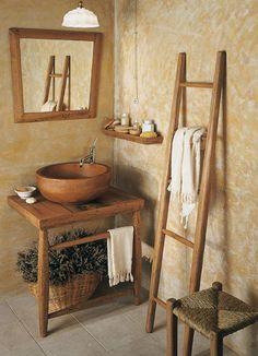 Мебель для ванных комнат Bianchini U0026 Capponi. Коллекция ETNICA: теплота  дерева