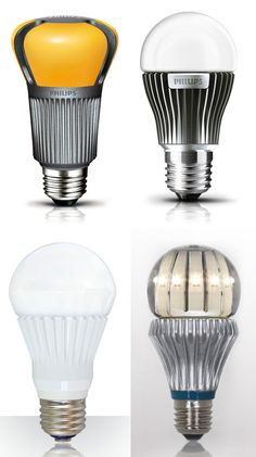 Fancy LED Lightbulb Designs. LEDs use up to 80% less energy than incandescents!