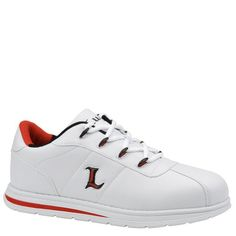Lugz Men's Zrocs-DX Lace-Up,White/Crimson Red/Black,10 D US A sleek, sporty sneaker that adds athletic style to any look. Manmade upper with metallic logo inset. Stylish metal lace hardware. Padded tongue and collar. Cushioned footbed.  #Lugz #Shoes