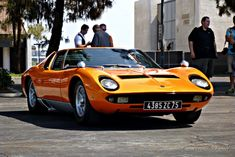 The Super Car: Lamborghini Miura! Wallpaper