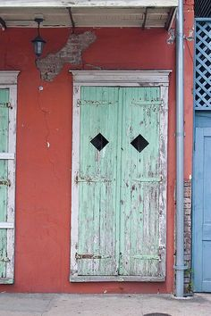 New Orleans French Quarter Door