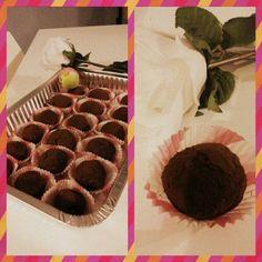 tartufini ricotta e cioccolato