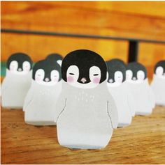 MochiThings.com: Baby Penguin Sticky Note