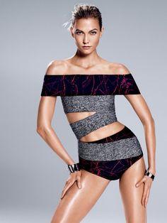 Fragmentos de Moda: Karlie Gloss posa como atleta em looks inspiradore...
