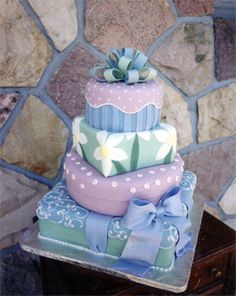 Wedding cake design by www.cakecreations.ca - Canmore Alberta