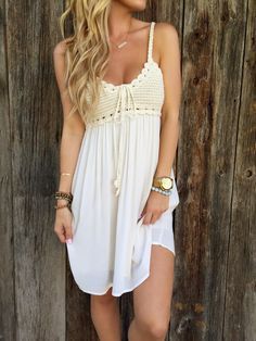 Bailey Crochet Dress from Lola Jeannine. Saved to New Arrivals. Shop more products from Lola Jeannine on Wanelo.