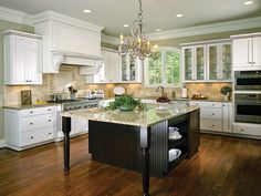 7 best Two-Tone Kitchens images on Pinterest   Kitchen ideas ...