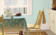 30 Inspiring Paint Colors for Your Kitchen: Kitchen Paint Colors: Light and Airy Paint Colors