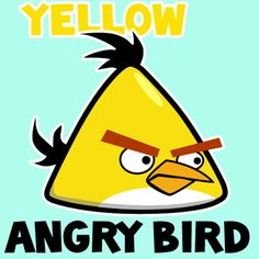 Step 400x400 yellow angry bird How to Draw Yellow Angry Bird with Easy Step by Step Drawing Tutorial