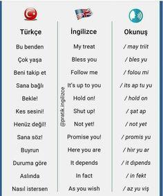 Learn Turkish Language, Arabic Language, English Phrases, Learn English Words, English Language Learning, Learning Spanish, English Diary, 6 Chakra, Vocabulary Journal