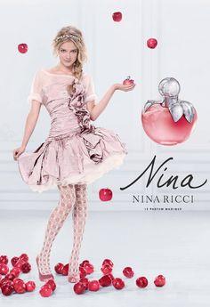 Nina Ricci 'Nina L'Elixir' Perfume Perfumes Nina Ricci, Nina Ricci Parfum, Beauty Ad, Beauty Shots, Kenzo, Anuncio Perfume, Perfume Adverts, Vintage Perfume, Fashion Editorials