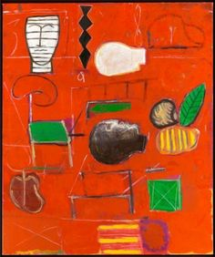 Mimmo Paladino  Red Studio 3  2007