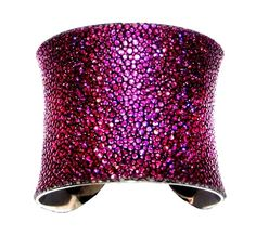 Metallic Magenta Stingray Cuff Bracelet  by UNEARTHED by UNEARTHED, $85.00