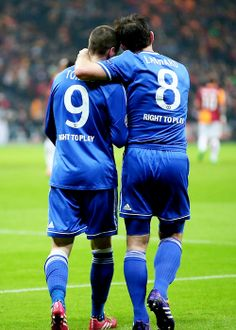 Fernando Torres and Frank Lampard; Galatasaray 1 Chelsea FC 1 (26/2/2014)