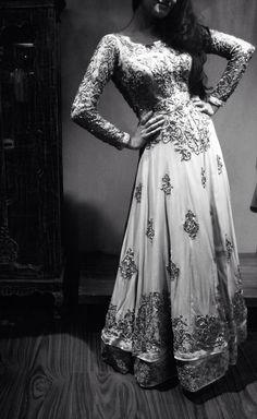Indo-western gown/Nautanky/ spring summer-2014