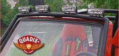 Quadix: Licht für den Buggy 800 Es werde Licht: Mit vier Hella-Scheinwerfern Made in Germany auf einer Lightbar bietet Quadix für 349 Euro zusätzliches Licht für den Buggy 800 http://www.atv-quad-magazin.com/aktuell/quadix-licht-fuer-den-buggy-800/