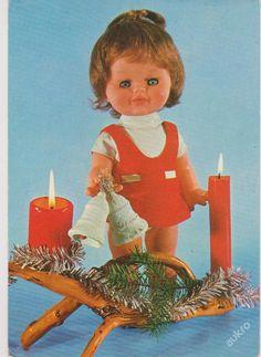 Antique Dolls, Vintage Dolls, Retro 2, Christmas Cards, Christmas Ornaments, Vanitas, Lets Celebrate, Czech Republic, Vintage Antiques