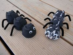 I found this super cute egg carton ant craft and knew Trip would like it. I got out some black paint and cut an egg carton into three-c. Animal Crafts For Kids, Craft Activities For Kids, Toddler Crafts, Literacy Activities, Ant Crafts, Insect Crafts, Dragon Crafts, Alphabet Crafts, Letter A Crafts