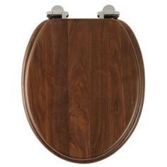Roper Rhodes Solid Wood Soft Close Toilet Seat Walnut £62.40