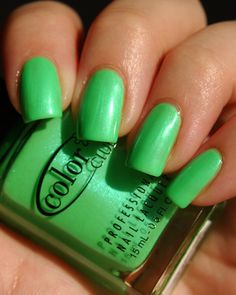 Color Club, What a Shock!