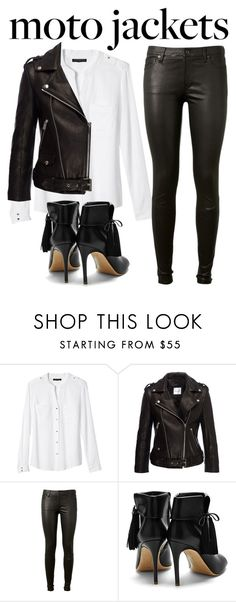 """~218\\218~"" by taytay-55 ❤ liked on Polyvore featuring Banana Republic, Anine Bing, AG Adriano Goldschmied and Rupert Sanderson"