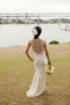 'Chantilly' wedding gown by Claire Pettibone Bridal... also inspired gown at Coral's Bridal