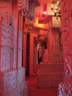 A creepy pink magical bakery.  Scott Hove | Don't Panic Magazine | Arts