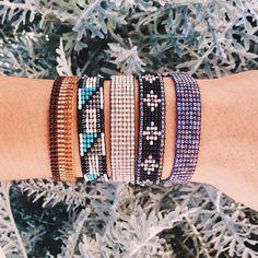 Holidaze Woven Seed Beads | Pura Vida Bracelets