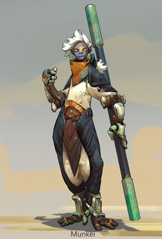 ArtStation - Khoa Việt\'s submission on Beyond Human - Character Design