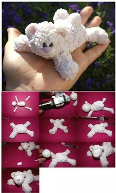 Adorable Teddy Bear Picture Tutorial.